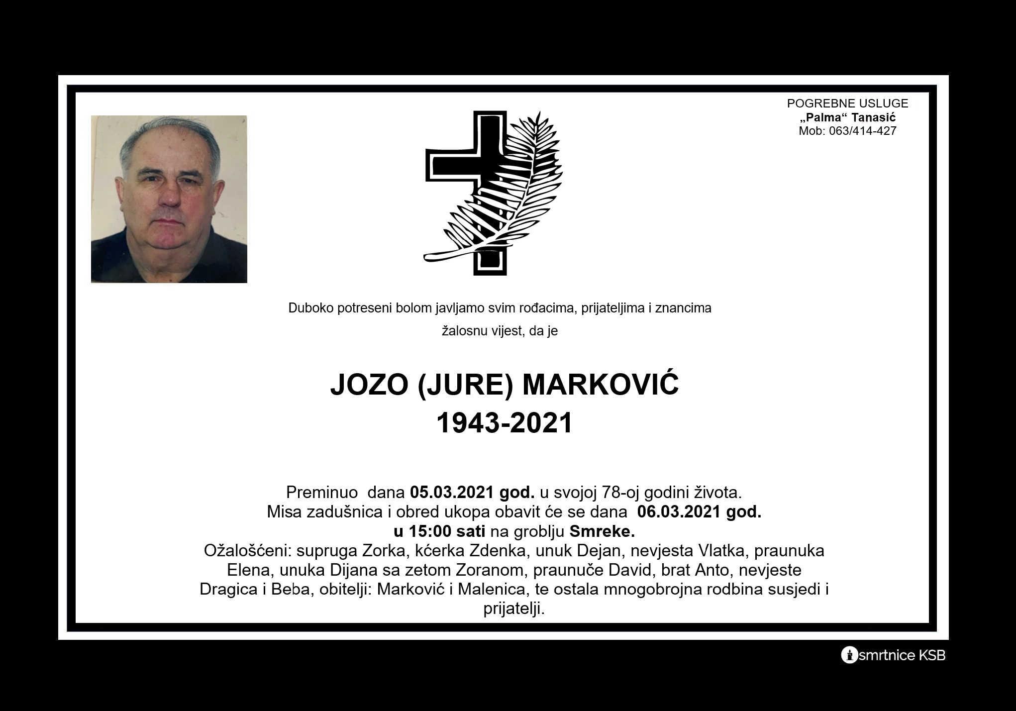 Jozo (Jure) Marković