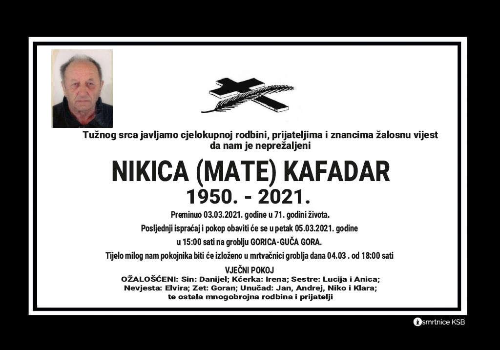 Nikica (Mate) Kafadar