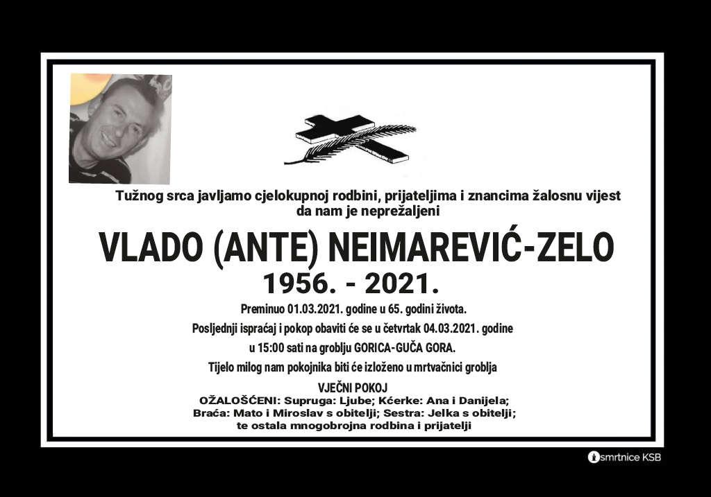 Vlado (Ante) Neimarević-Zelo