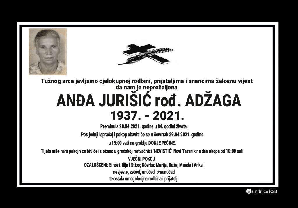 Anđa Jurišić rođ. Adžaga