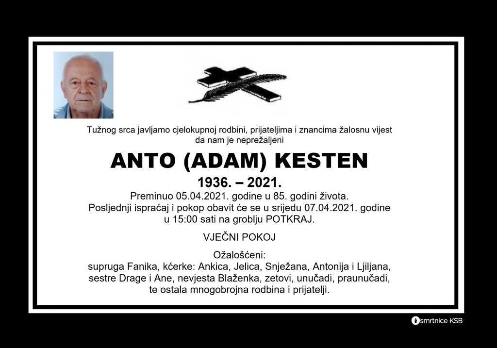 Anto (Adam) Kesten