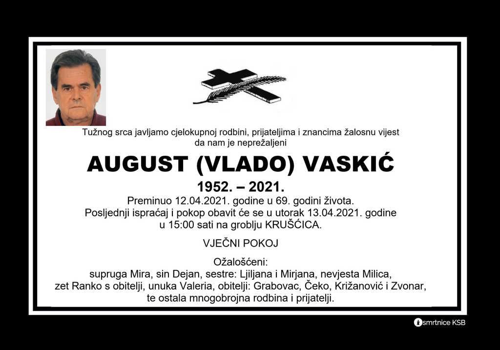 August (Vlado) Vaskić