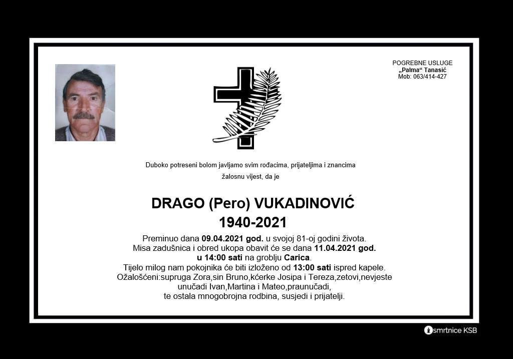 Drago (Pero) Vukadinović