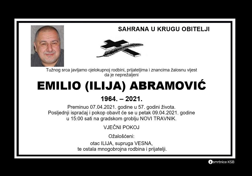 Emilio (Ilija) Abramović