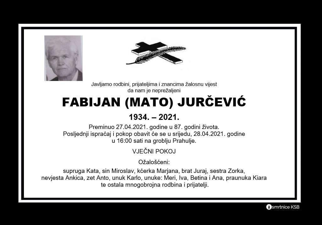 Fabijan (Mato) Jurčević