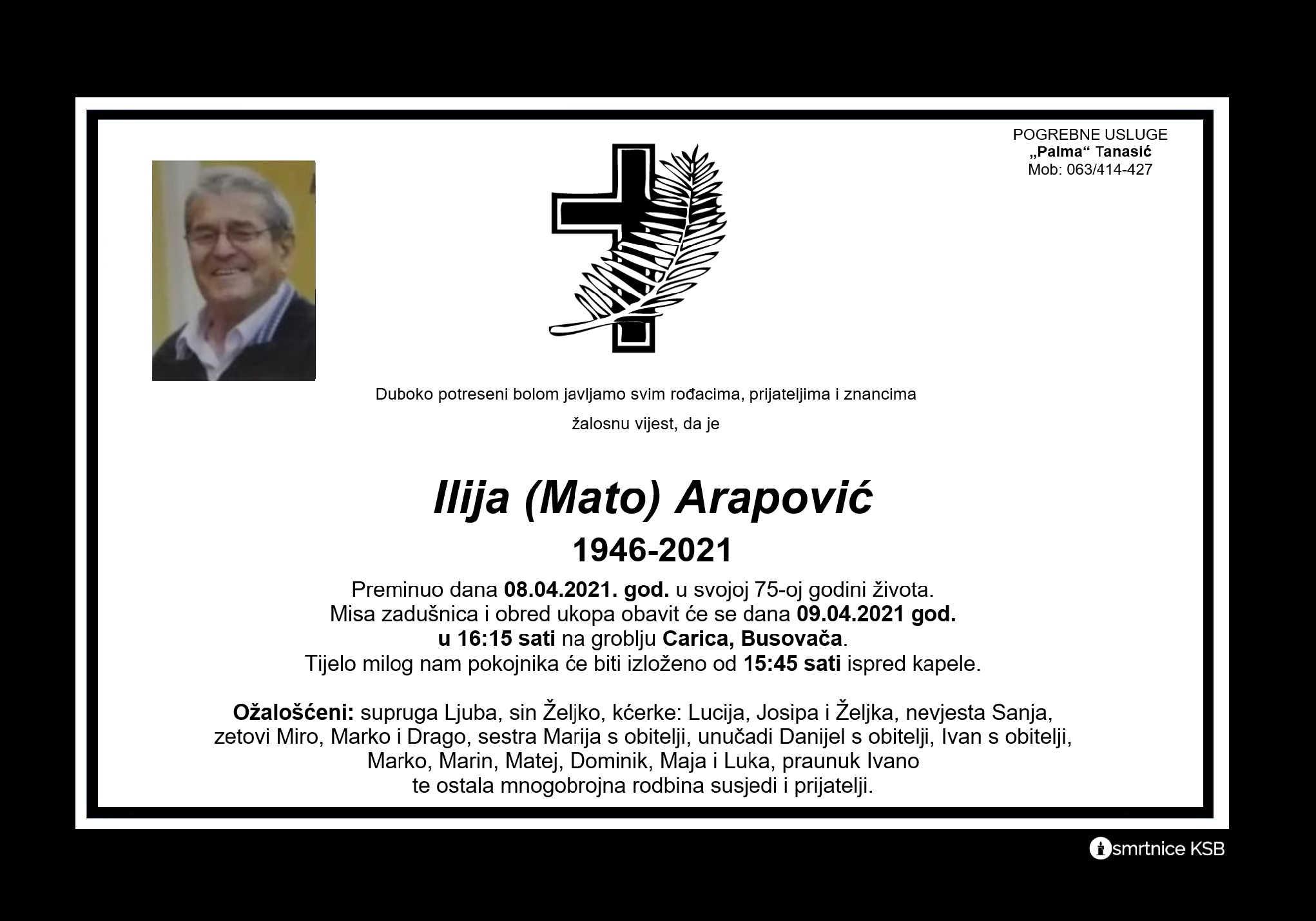 Ilija (Mato) Arapović