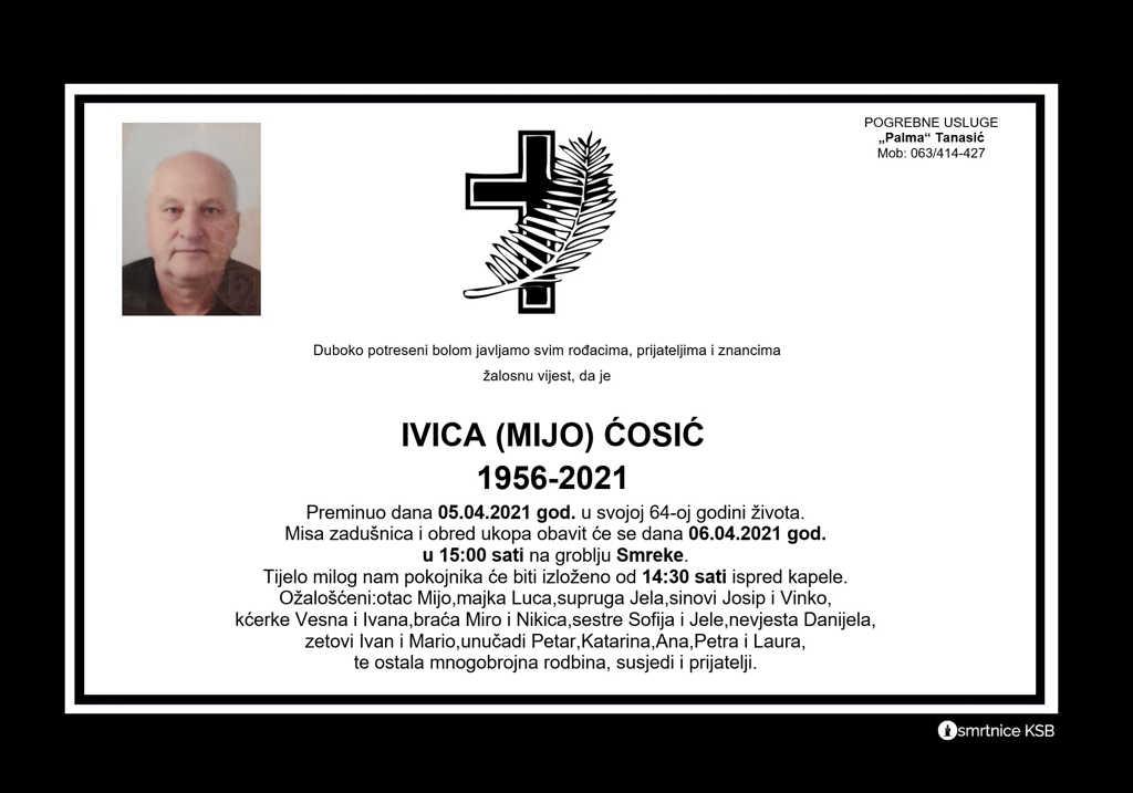 Ivica (Mijo) Ćosić