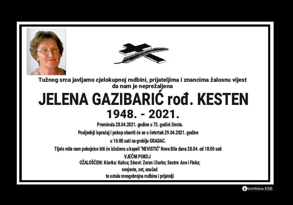Jelena Gazibarić rođ. Kesten