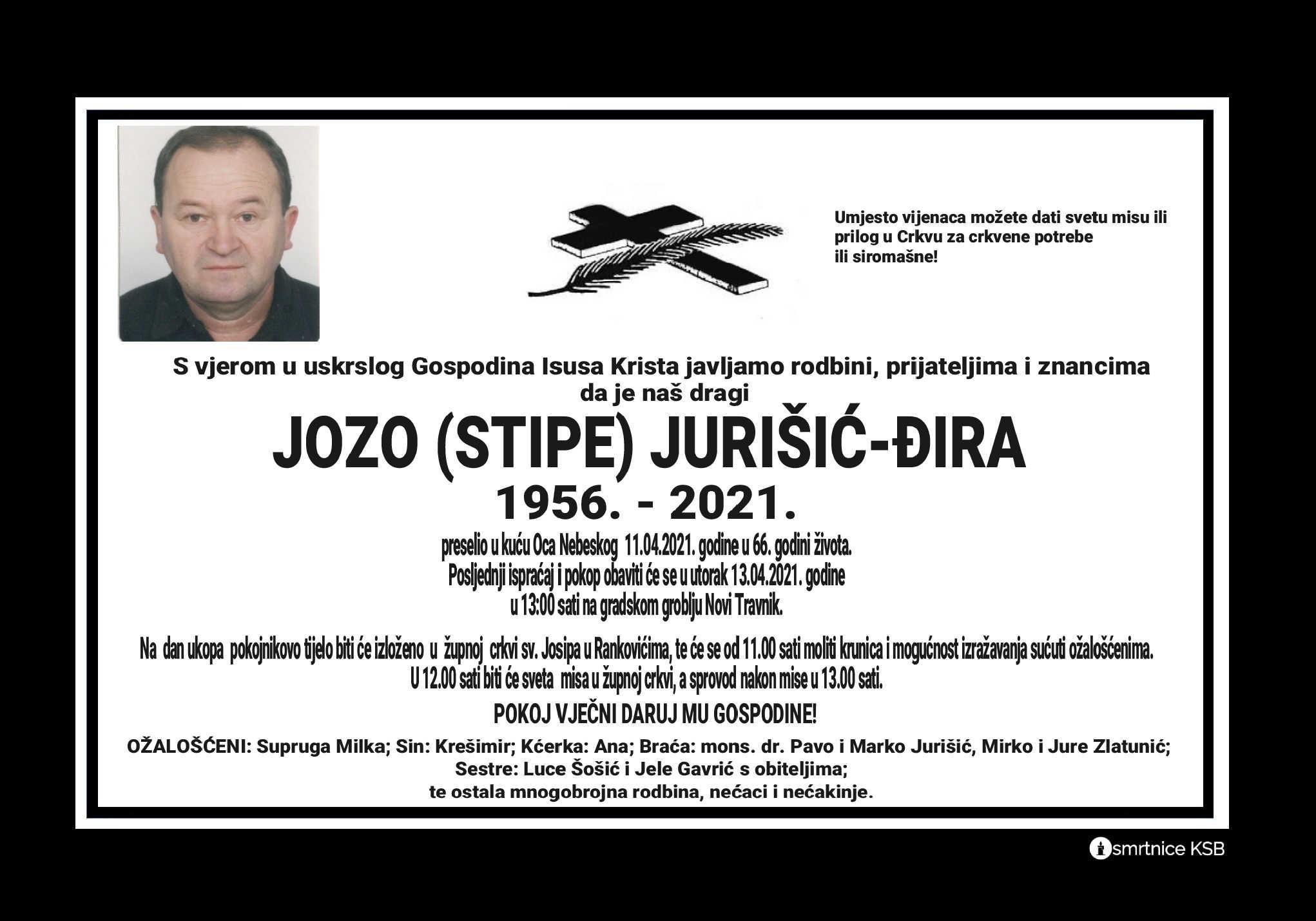 Jozo (Stipe) Jurišić – Đira