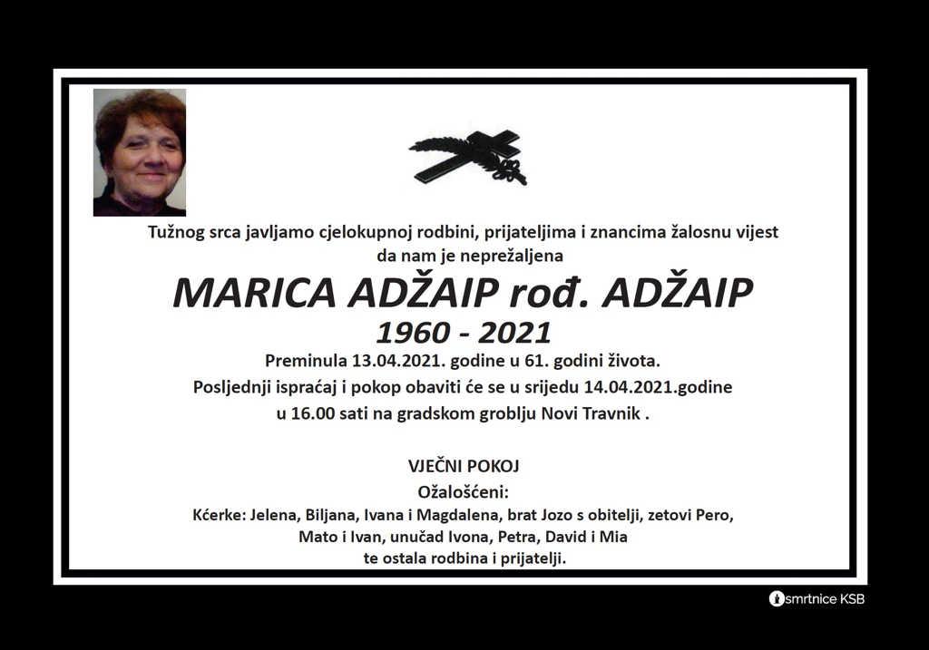 Marica Adžaip rođ. Adžaip