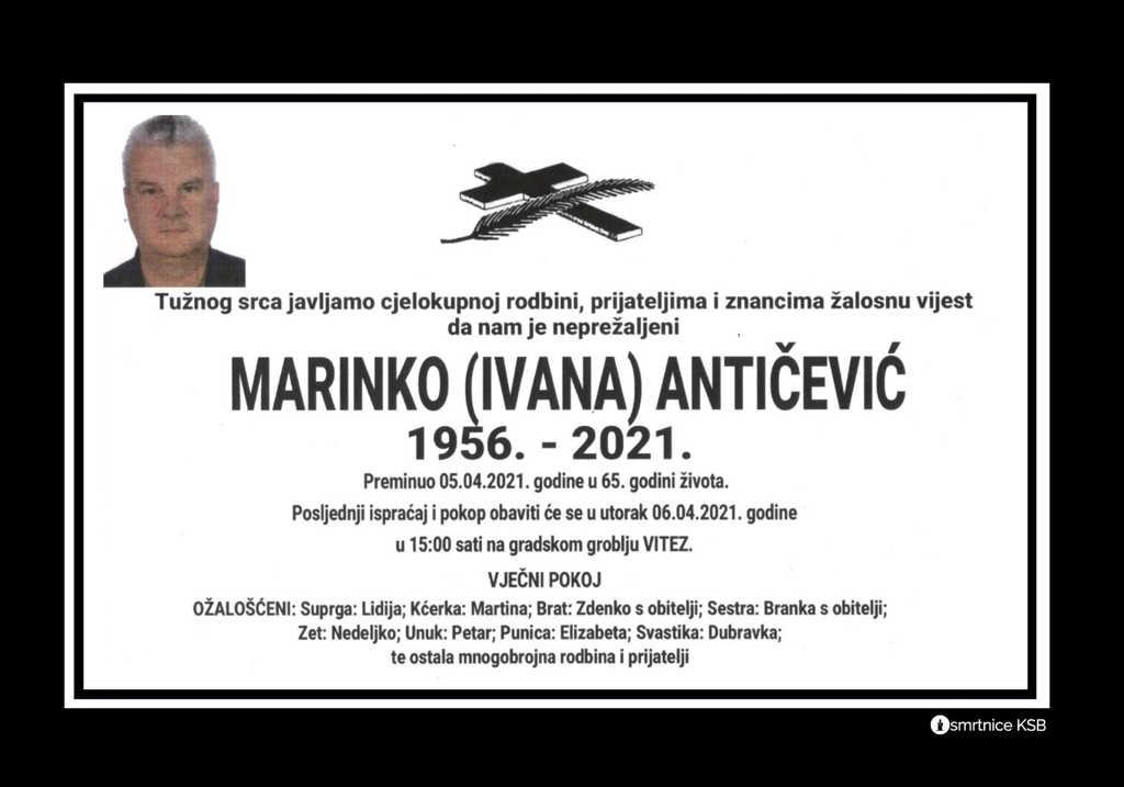 Marinko (Ivana) Antičević