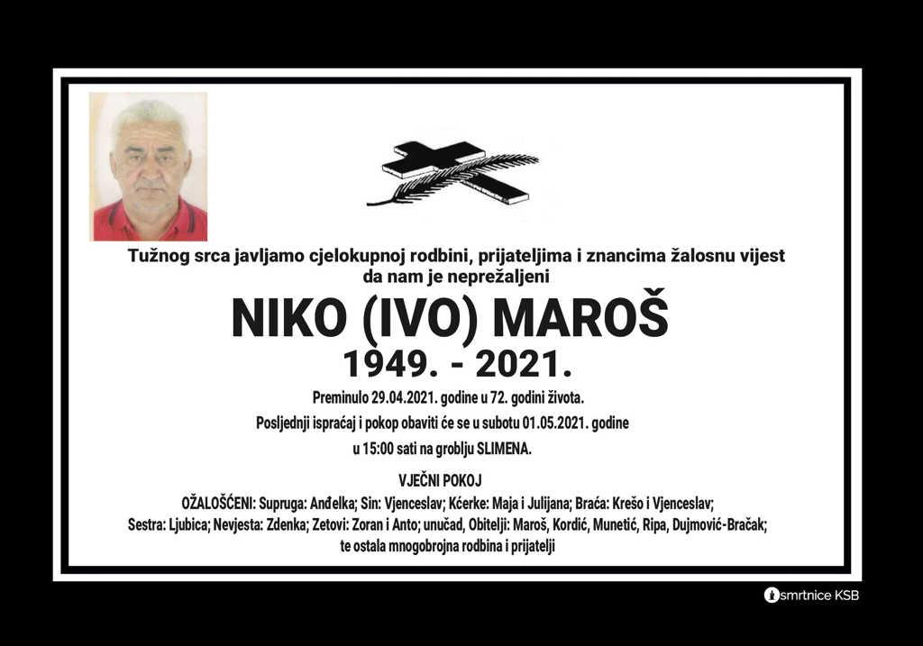 Niko (Ivo) Maroš