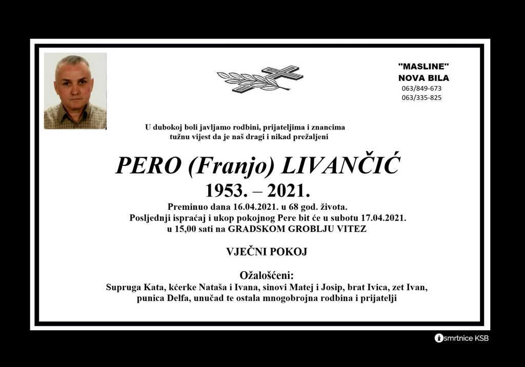 Pero (Franjo) Livančić