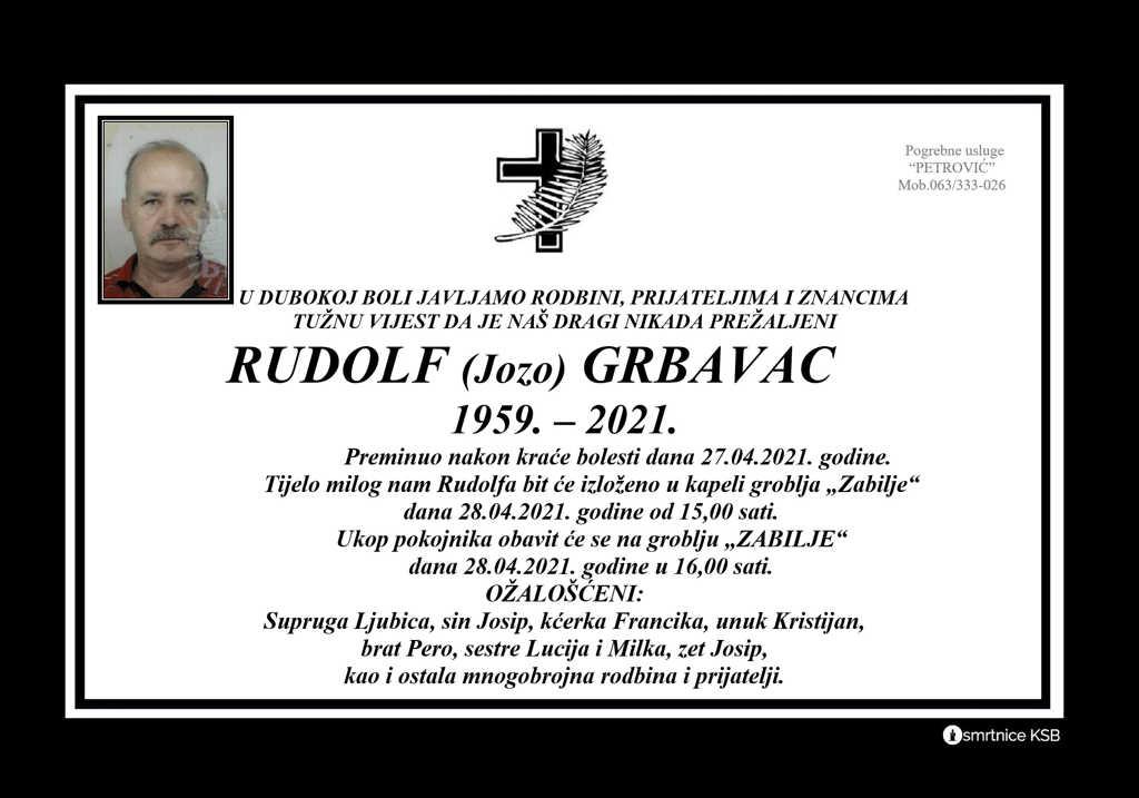 Rudolf (Jozo) Grbavac
