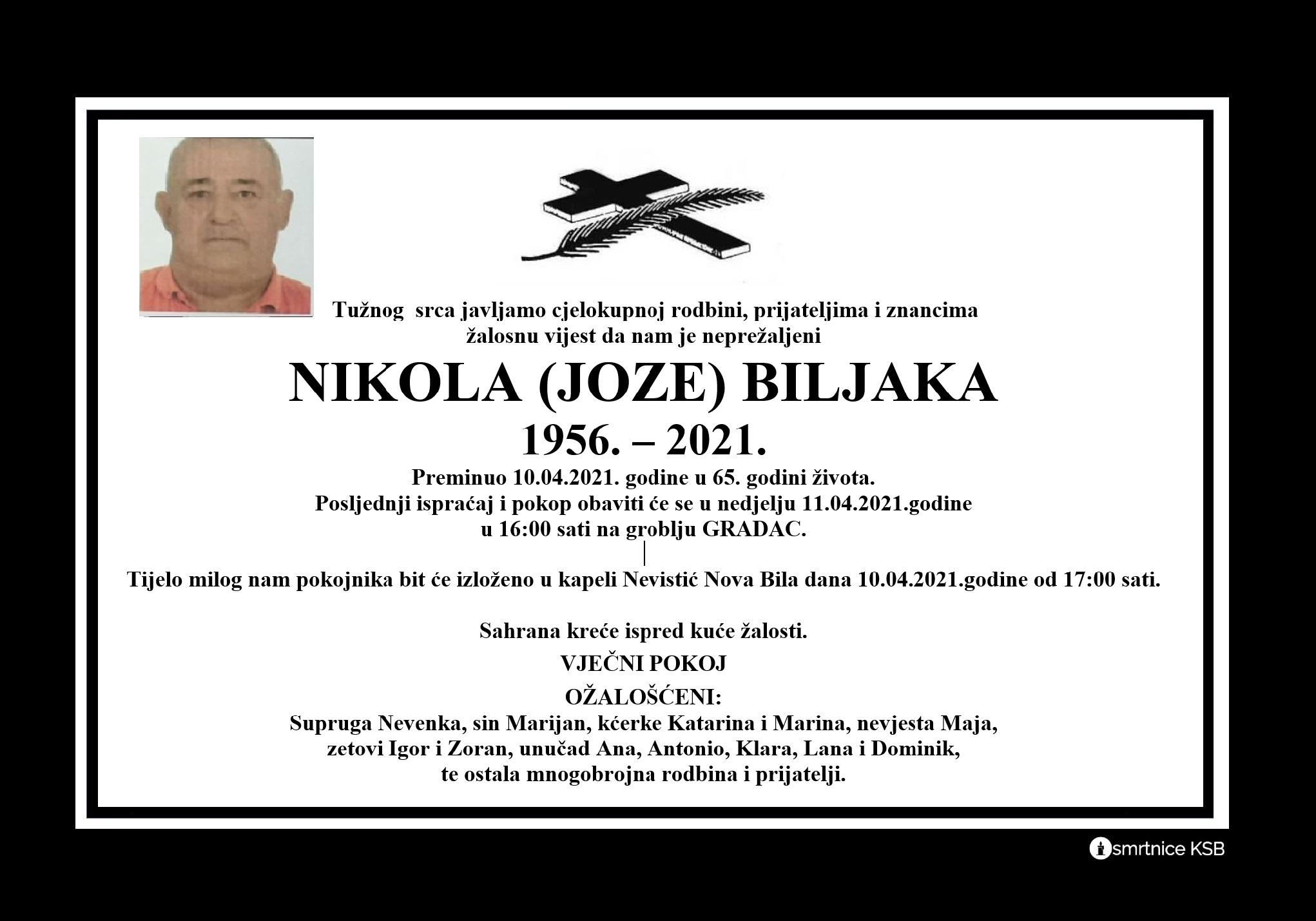 Nikola (Joze) BIljaka