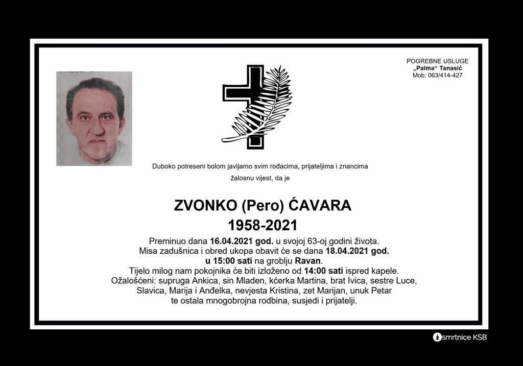Read more about the article Zvonko (Pero) Ćavara