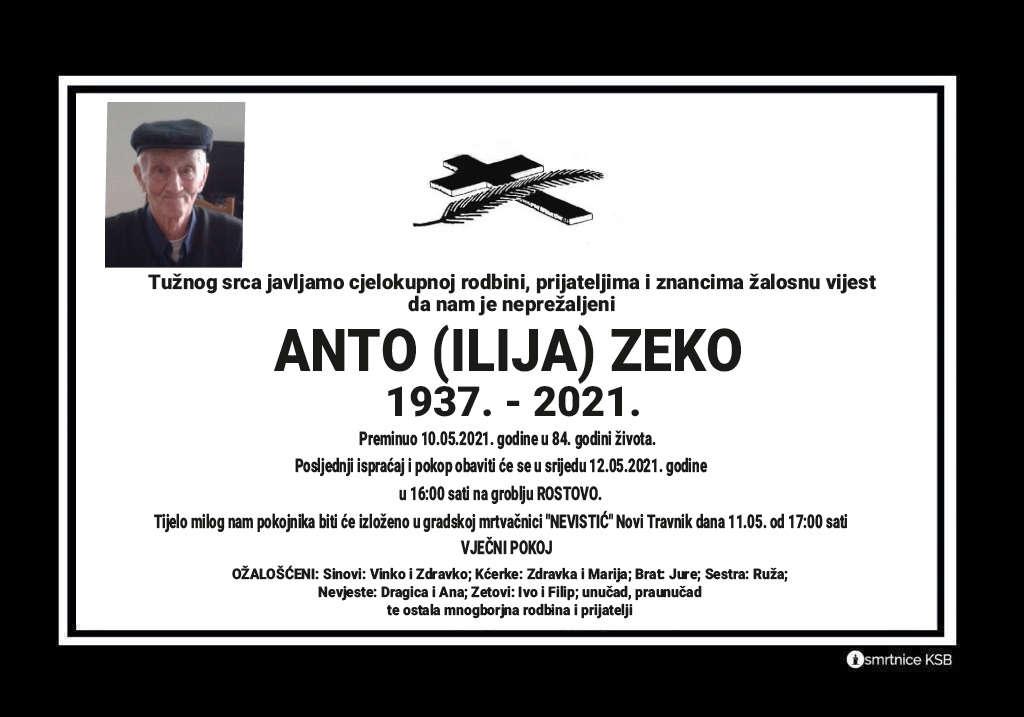 Anto (Ilija) Zeko