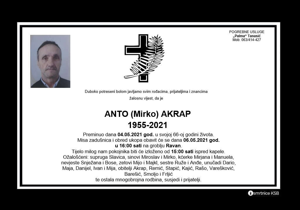 Read more about the article Anto (Mirko) Akrap