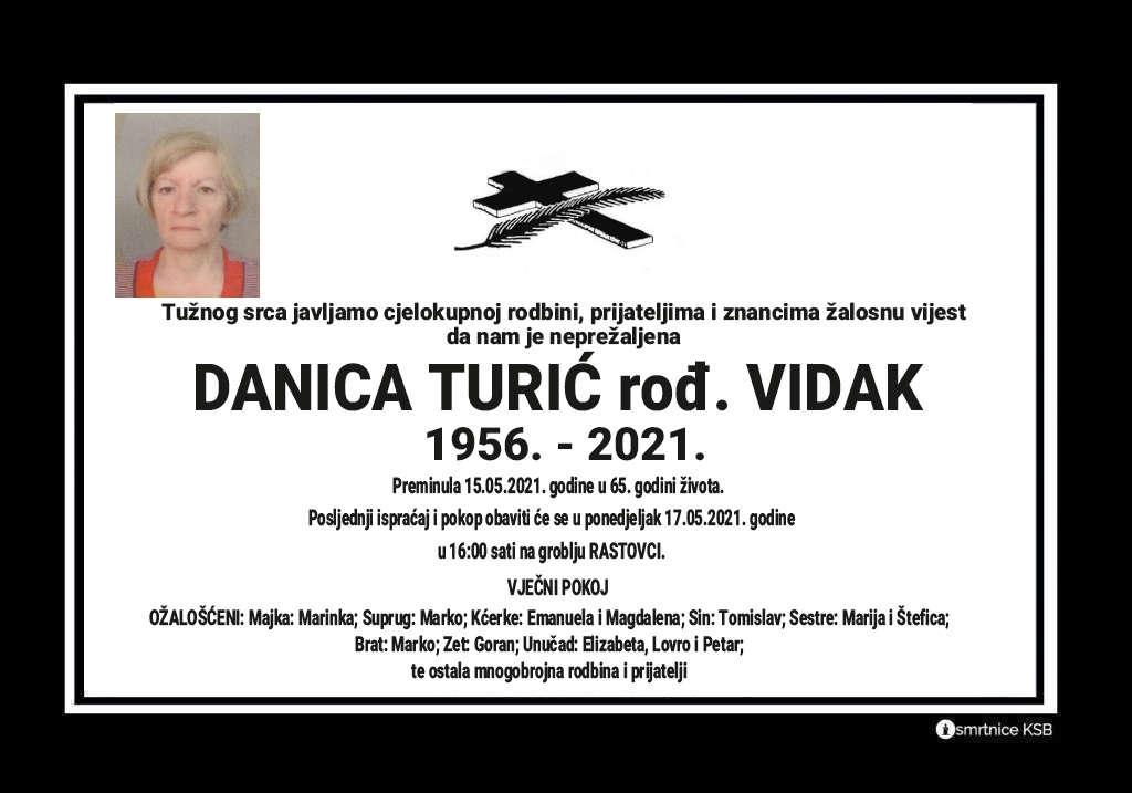 Danica Turić rođ. Vidak