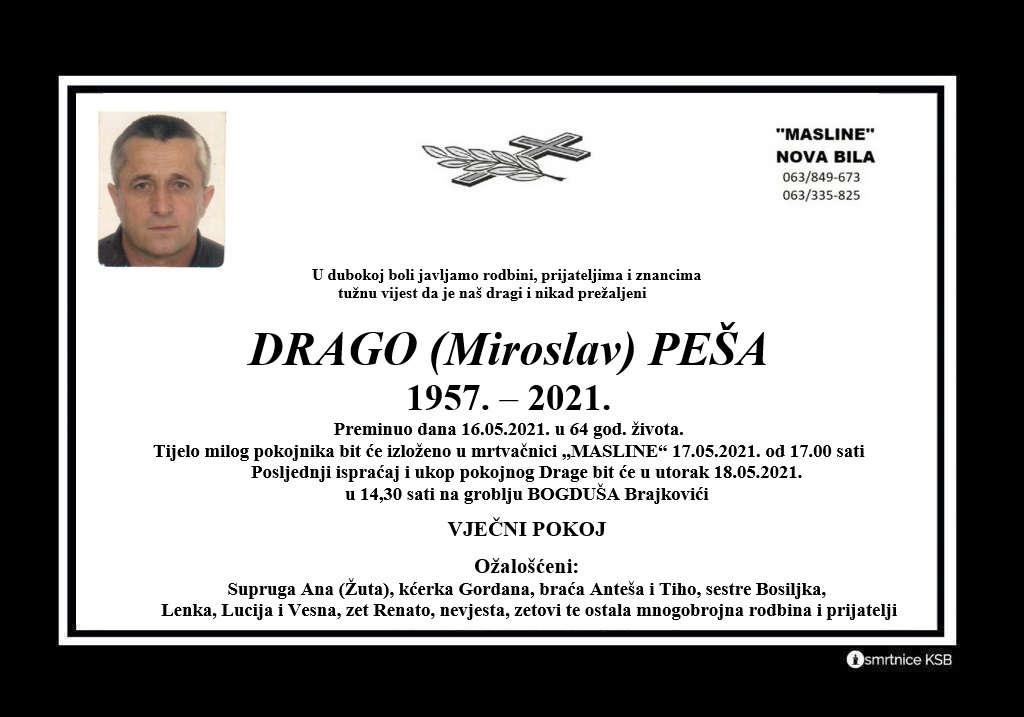 Read more about the article Drago (Miroslav) Peša