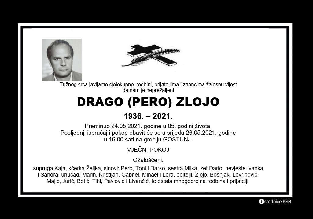 Drago (Pero) Zlojo