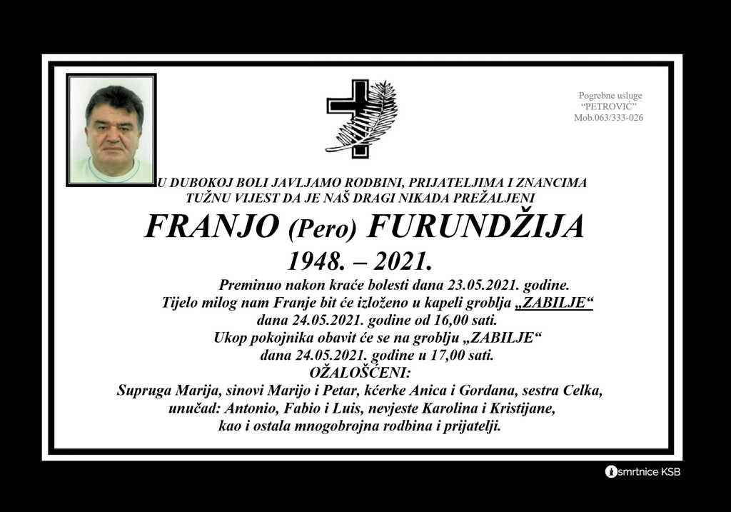 Franjo (Pero) Furundžija