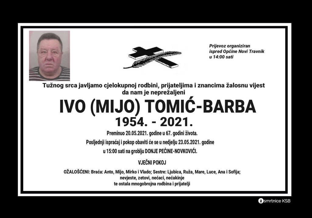 Ivo (Mijo) Tomić-Barba
