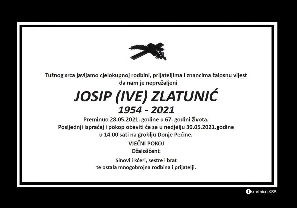 Josip (Ive) Zlatunić