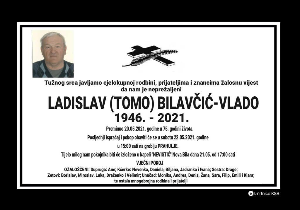 Ladislav (Tomo) Bilavčić-Vlado