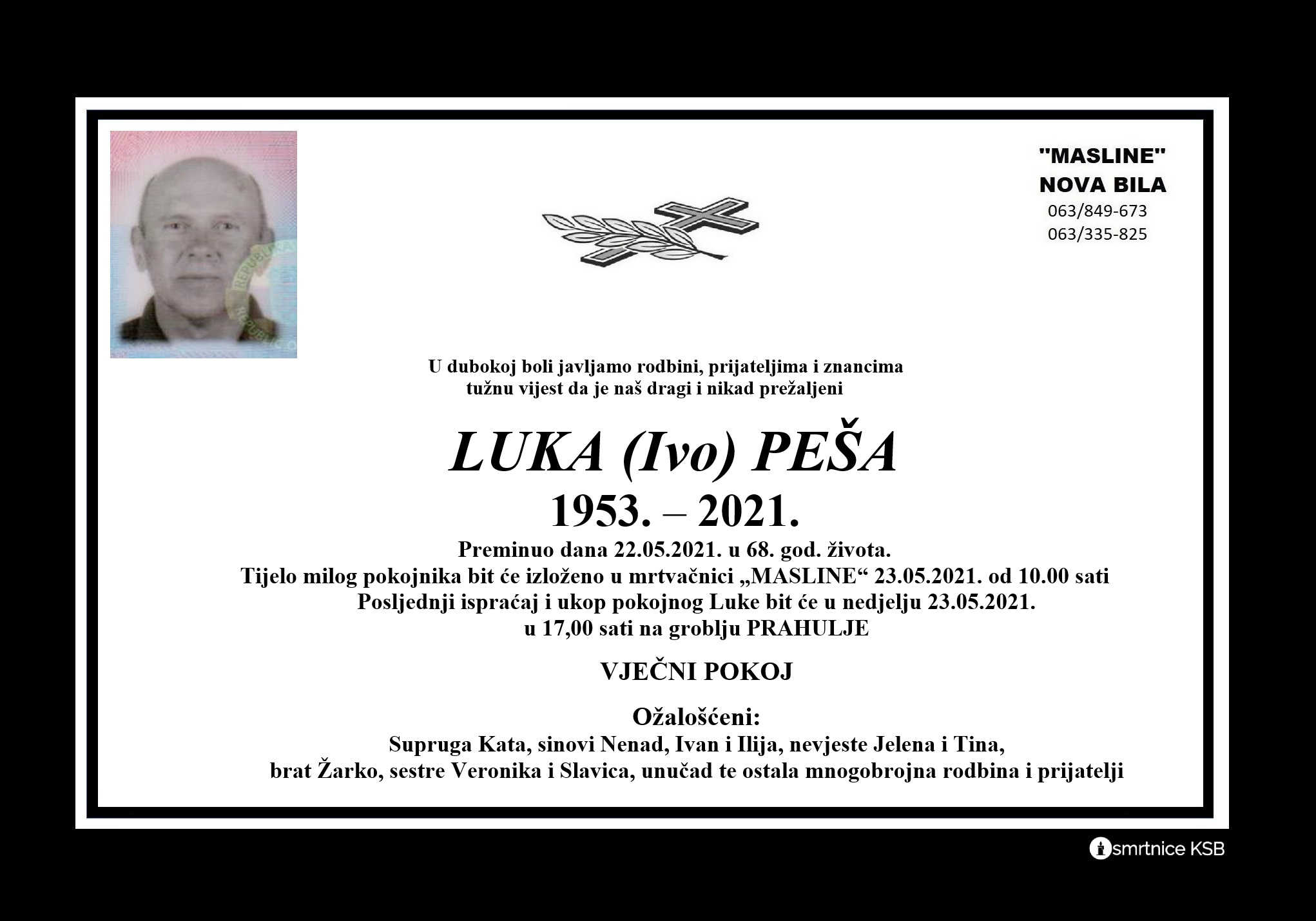 Read more about the article Luka (Ivo) Peša