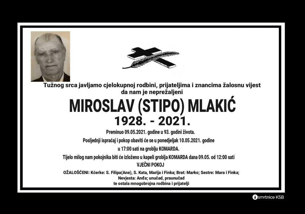 Miroslav (Stipo) Mlakić