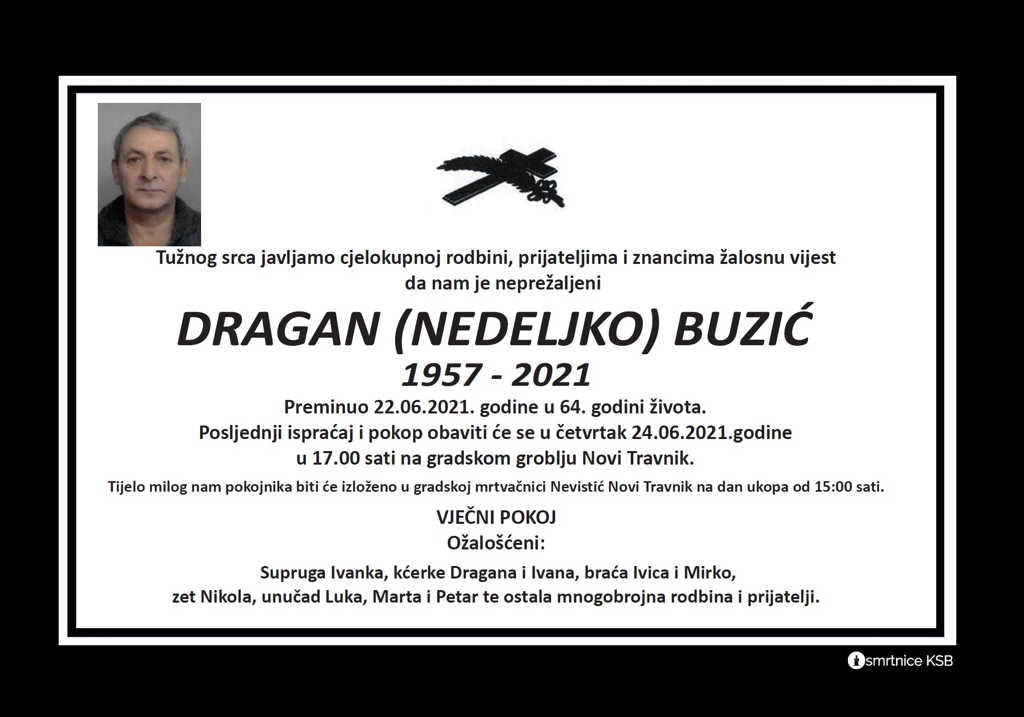 Dragan (Nedeljko) Buzić