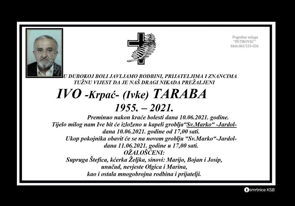 Ivo -Krpać- (Ivke) Taraba