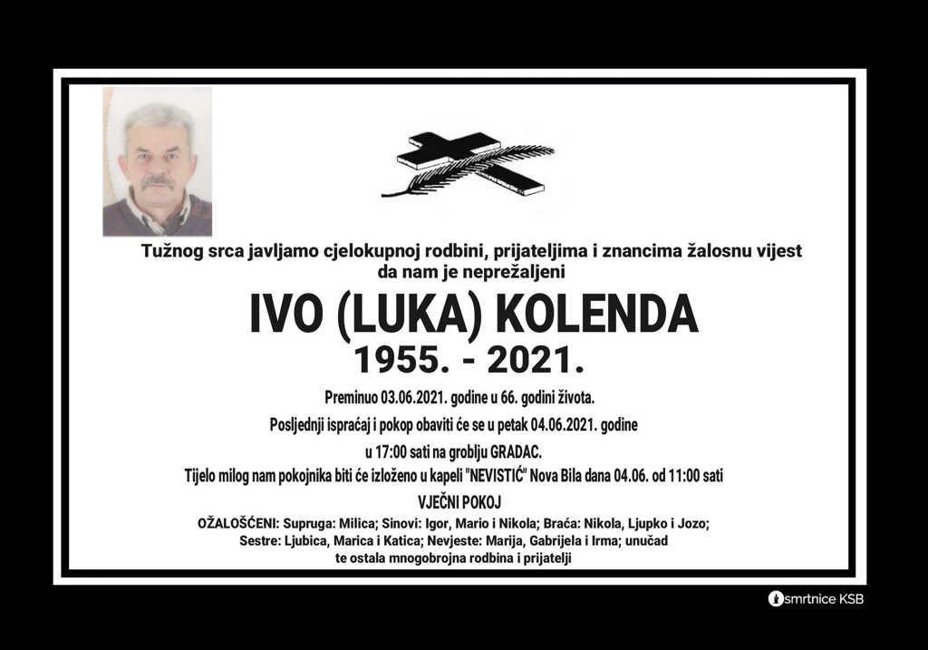 Ivo (Luka) Kolenda