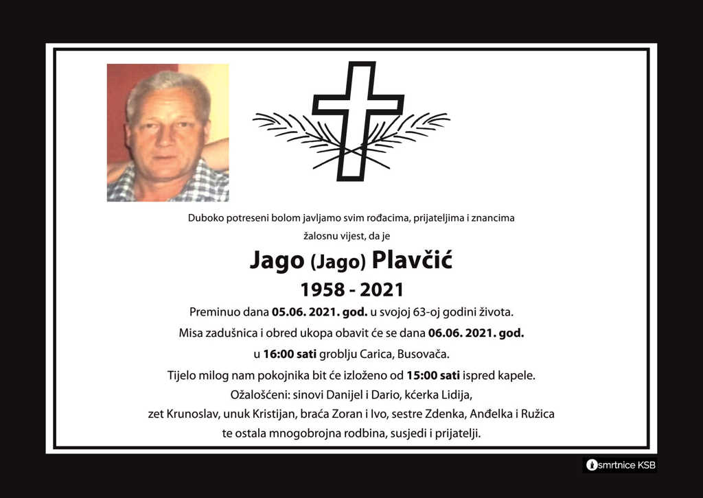 Read more about the article Jago (Jago) Plavčić