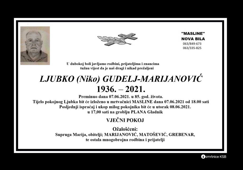 Read more about the article Ljubko (Niko) Gudelj-Marijanović