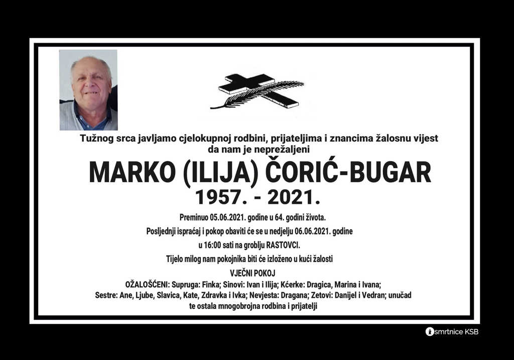 Marko (Ilija) Čorić-Bugar