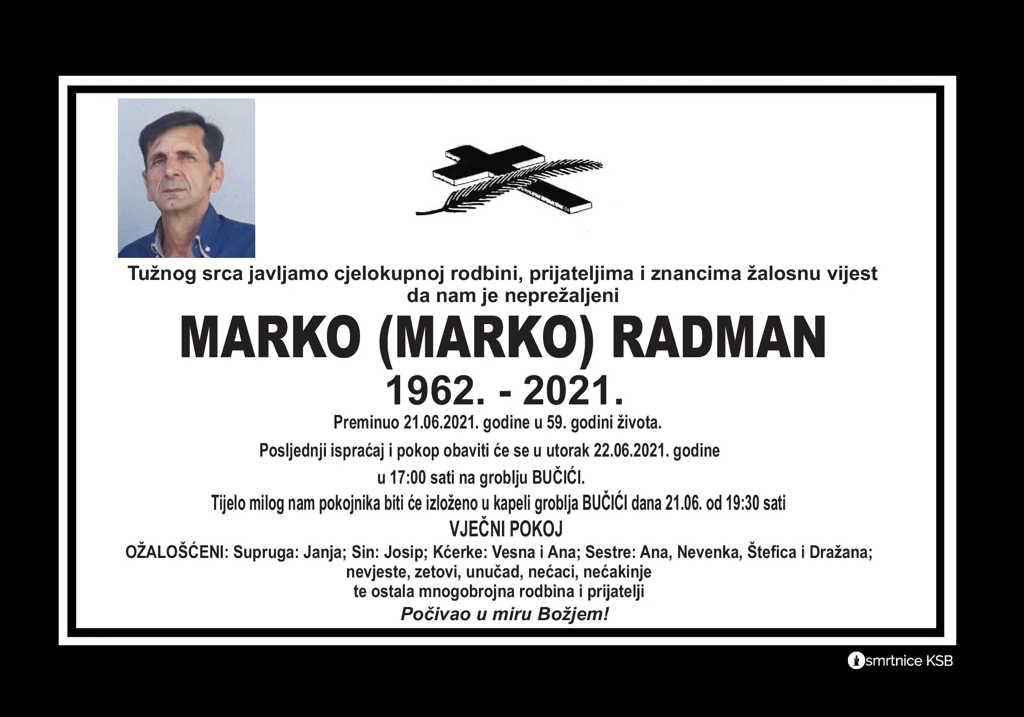 Marko (Marko) Radman