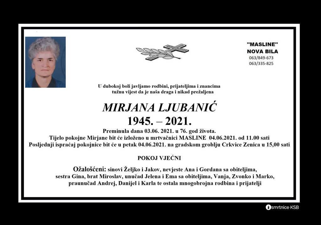 Read more about the article Mirjana Ljubanić