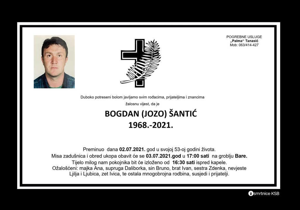 Read more about the article Bogdan (Jozo) Šantić