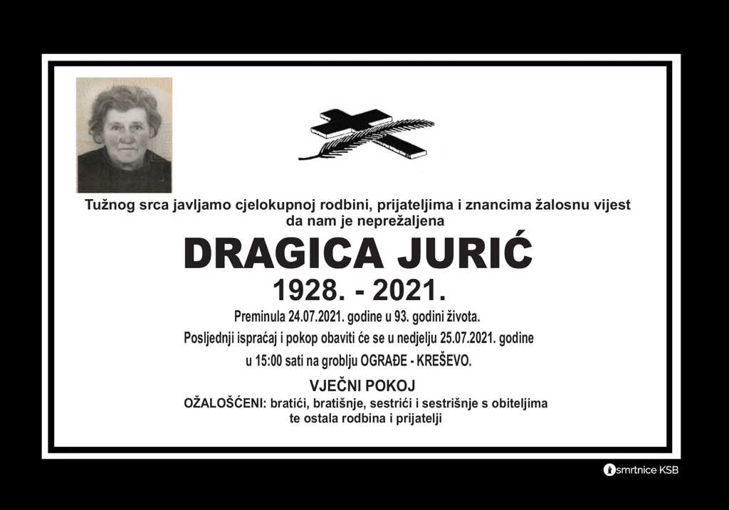 Read more about the article Dragica Jurić