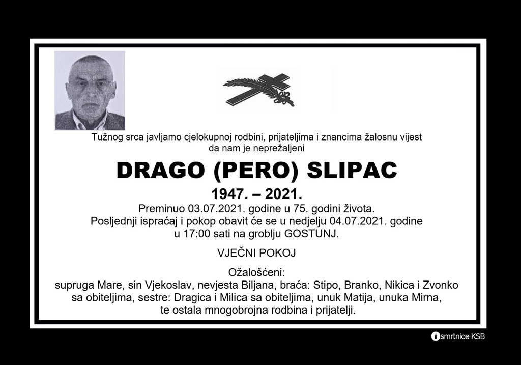 Read more about the article Drago (Pero) Slipac