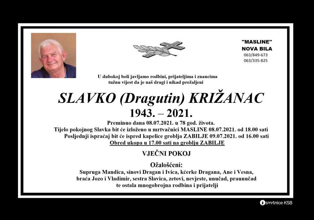 Read more about the article Slavko (Dragutin) Križanac