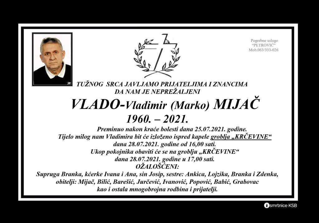 Read more about the article Vlado – Vladimir (Marko) Mijač
