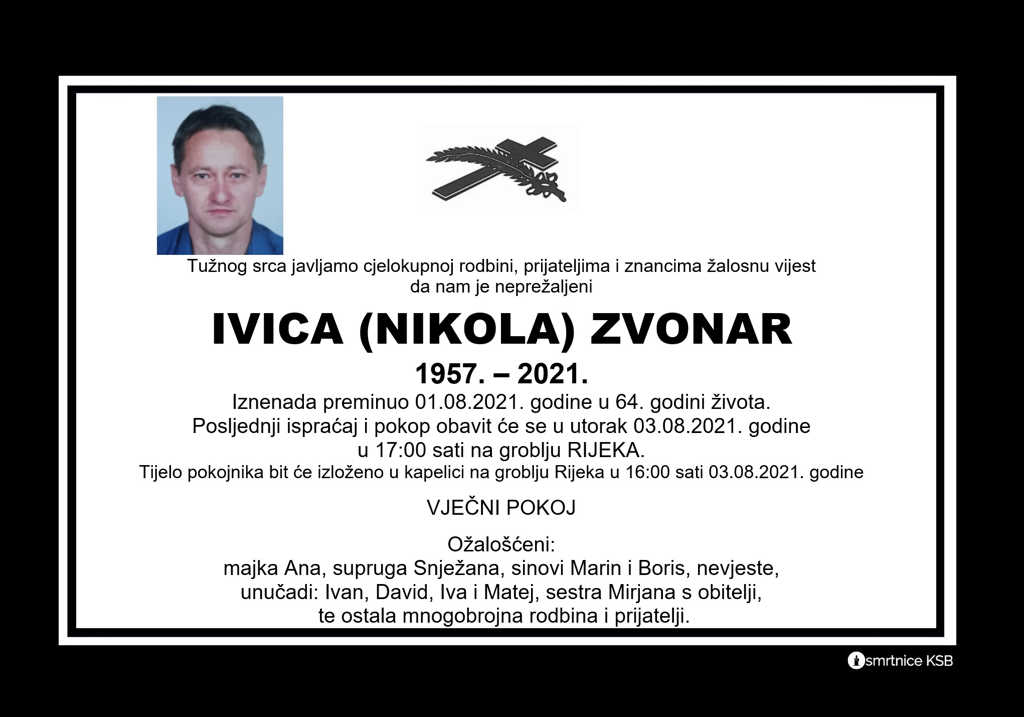 Read more about the article Ivica (Nikola) Zvonar
