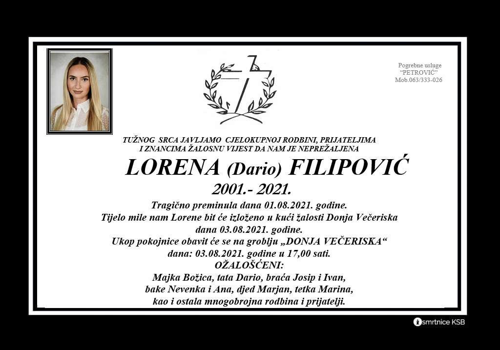 Read more about the article Lorena (Dario) Filipović