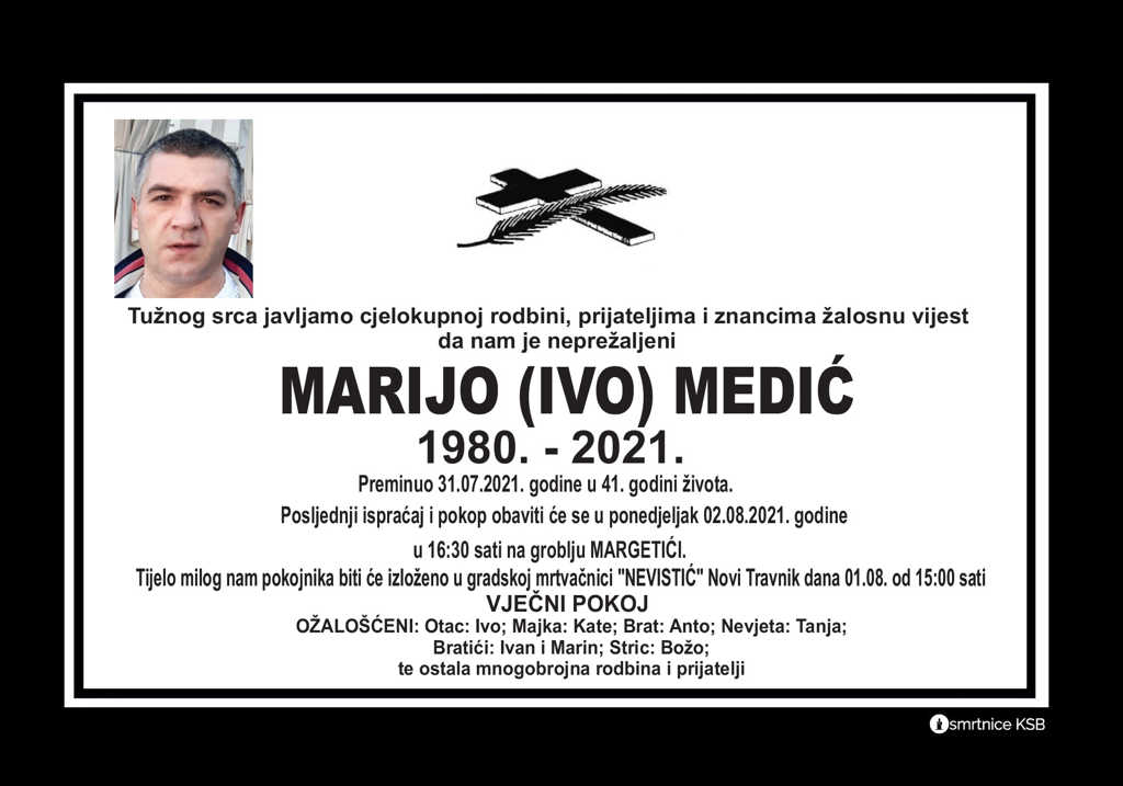 Read more about the article Marijo (Ivo) Medić