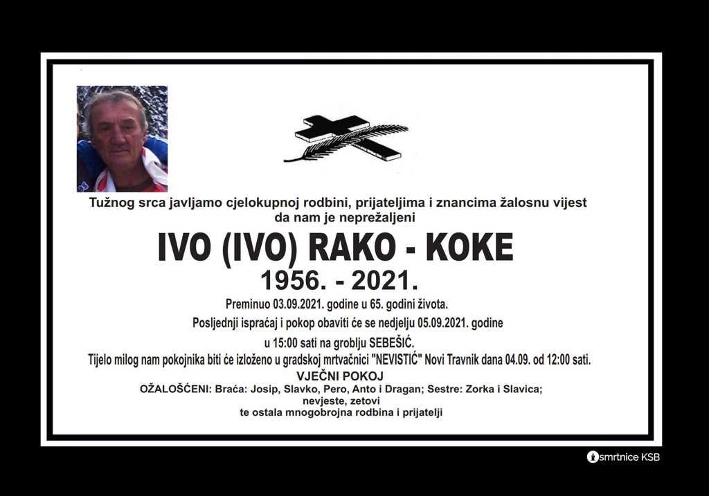 Pročitajte više o članku Ivo (Ivo) Rako – Koke