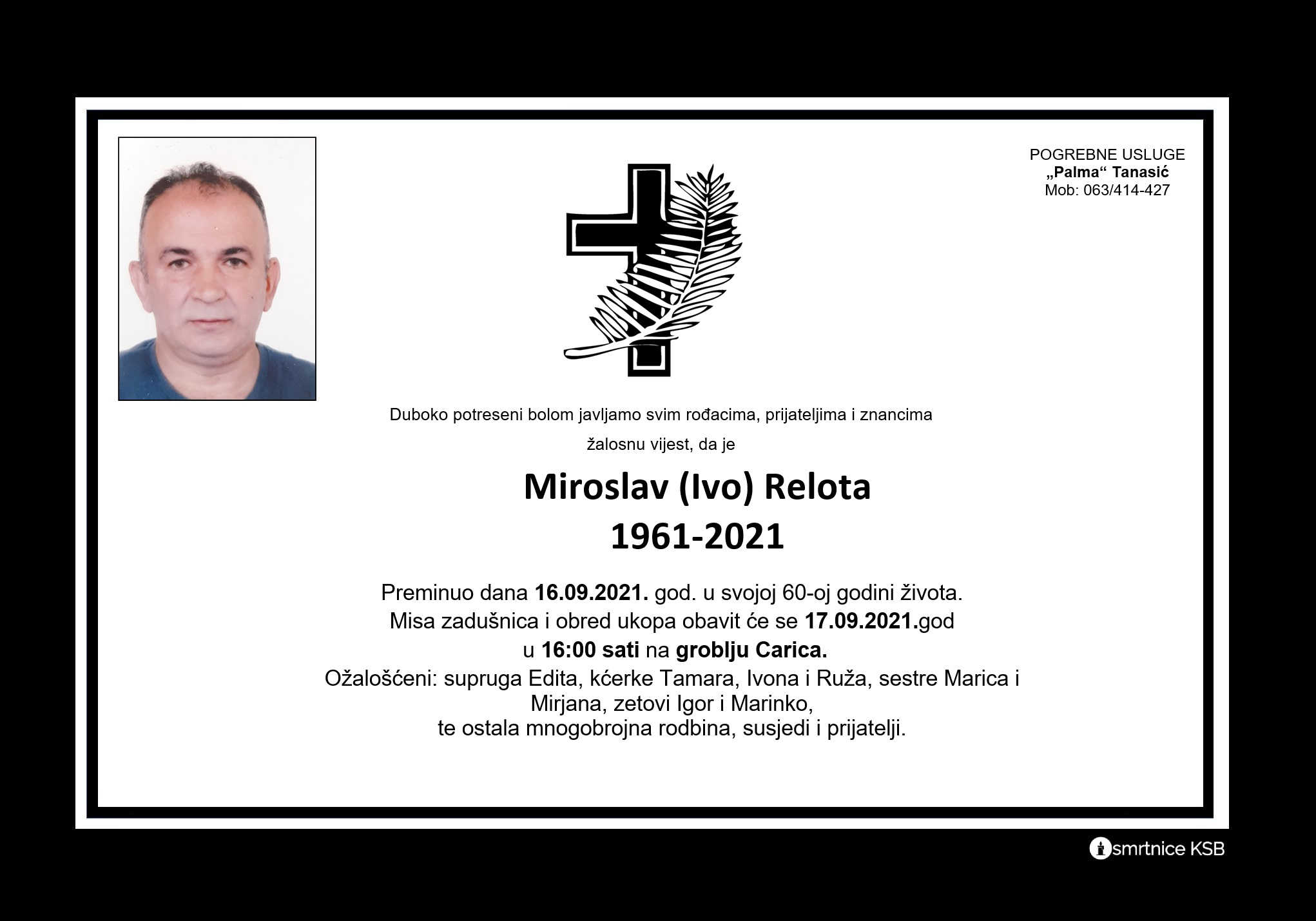 Pročitajte više o članku Miroslav (Ivo) Relota