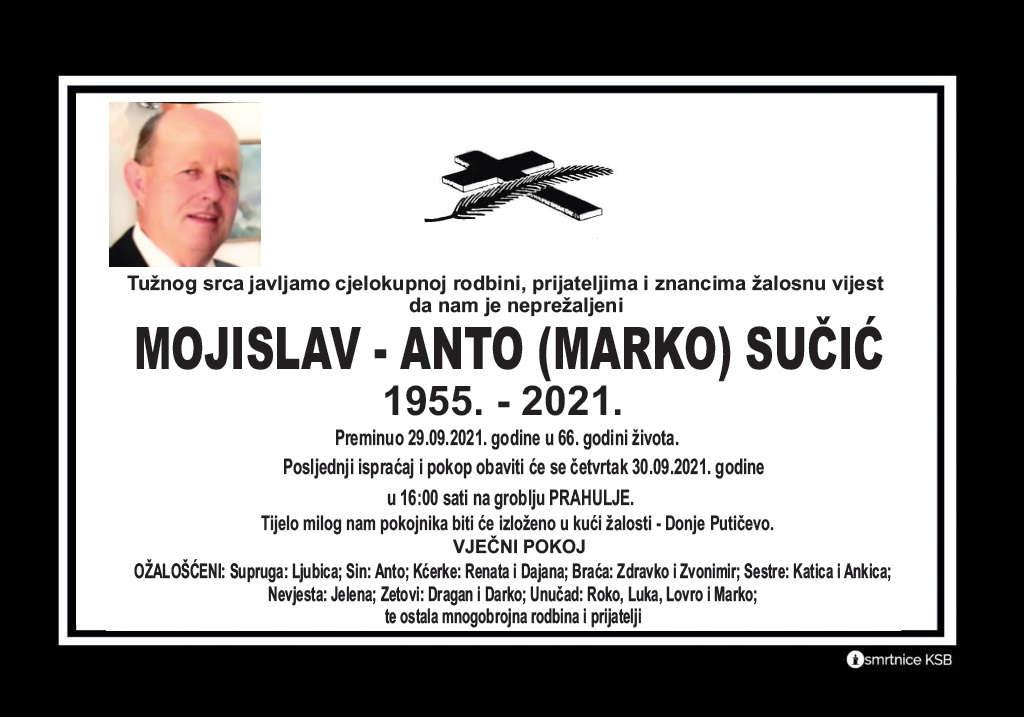 Pročitajte više o članku Mojislav – Anto (Marko) Sučić